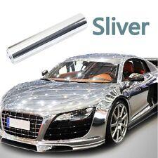 Nice Silver Smooth Chrome Mirror Vinyl Wrap Film Auto Car Sticker Decal 30*150cm