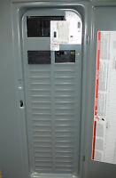 New Square D Generator Interlock Panel Breakers & Receptacle 20,30, or 50 amp