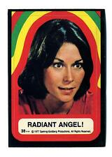 Topps 1978 Charlie's Angels Series 4 Sticker Card #38 Radiant Angel!