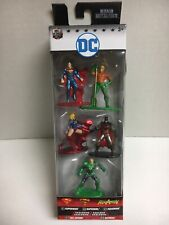 Dc Comics Pack A Die-Cast Metal Nano Metalfigs 5 Pack Batman Aquaman Superman