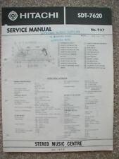 service manual for Hitachi SDT-7620