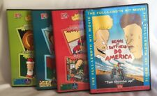 Beavis & Butt-Head 'The Best Of'' & Beavis & Butt-Head Do America Set Of 4 DVD's