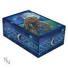 Moon Gazing Hare by Lisa Parker ~ Tarot Box ~ Nemesis Now