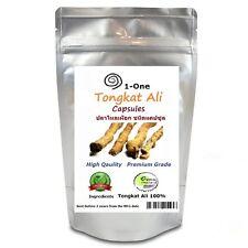 1,000 Capsules Tongkat Ali Root Dried  Eurycoma longifolia Longjack 100% Natural