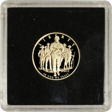 2011-W US Gold $5 Army Commemorative Proof - Coin in Square Holder