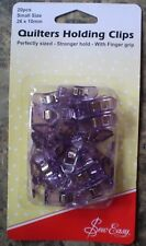 Sew Easy Quilters Holding Clips - Pack of 20 - Small 26mm x 10mm