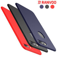 RANVOO For iPhone 7 Plus Case Ultra Thin Soft Silicone Rubber Protective Cover