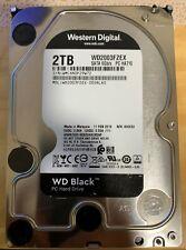 """WD Black 2TB 3.5"""" SATA HDD, WD2003FZEX"""