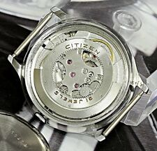 Ultra Rare Movement Citizen Super Automatic 21Jewels Japan Made Men's Watch Date