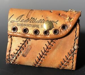 Ted Williams Baseball Glove Wallet! Boston Red Sox