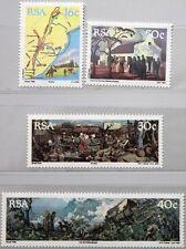 RSA SÜDAFRIKA SOUTH AFRICA 1988 762-65 der große Treck Karte Routen MNH