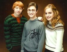 Daniel Radcliffe & Rupert Grint signed Harry Potter 8x10 photo - Exact Proof