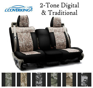 Coverking Custom Seat Covers Neosupreme Front Row - 2-Tone Digital Camo
