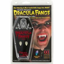 CUSTOM DESIGNER Dracula Fangs Teeth Costume Size Medium Halloween Vampire Teeth