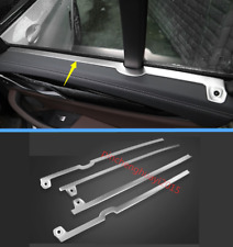 4PCS Stainless Inner Door Window Decorative Strip Trim For BMW X3 G01 2018