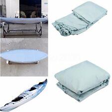 4.3x0.67m Blu UV Sunscreen Impermeabile Copri Cover per 3.8-4m Canoe Kayak Barca