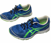 Asics Gel DS Racer Duomax Running Sneakers Blue Green Mesh Breathable Size 9.5