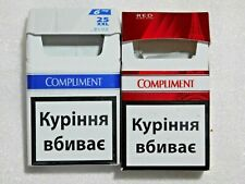 Empty Different Collector's Cigarette Packs COMPLIMENT from Ukraine NO TOBACCO