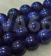 DIY Natural 12mm Blue Lapis Lazuli Gemstone Round Gemstones Craft Bead Batu Asli