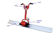 Intibuying 220V Electric Concrete Screed With 6.5' Board 30M+