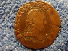 FRANCE: DOUBLE TOURNOIS HENRY III  1574-89   FINE PLUS!