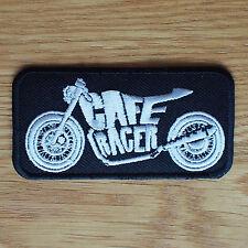 Parche de Tela de motociclista Rocker Greaser cueros Chaleco Cortado Cafe Racer