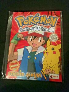 NEW STILL SEALED Pokemon Merlin Series 1 Album EMPTY UNUSED FREE UK POST