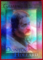GAME OF THRONES Season 4 FOIL PARALLEL Card #85 - DONTOS HOLLARD - Rittenhouse