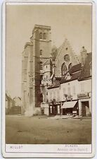Dijon Eglise Saint Jean France cdv Millot Vintage albumine ca 1870