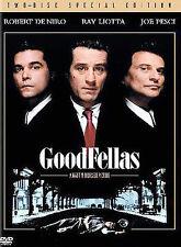 GoodFellas (Two-Disc Special Edition) Dvd, Paul Sorvino, Lorraine Bracco, Joe Pe