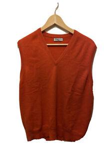 "Men's William & Son London Sleeveless Tank Vest Cashmere Jumper Size 44"" Read"