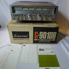Sansui G-901DB G9000 Pure Power DC Receiver ORIGINAL BOX *** SERVICED ***