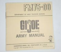 Vintage Original GI Joe Army Manual FM75-00 Dept Of Army Training 1964