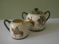 Royal Doulton Canterbury Pilgrims Series Ware Cream & Sugar