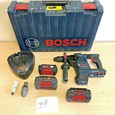 Bosch Professional GBH 36 VF-LI Plus Cordless Rotary Hammer Drill + 2X36V 4.0 Ah