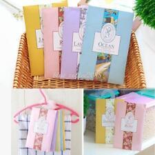 6PCS Flower Scented Sachet Wardrobe Drawer Perfume Fragrance Air Freshener