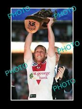 LARGE PHOTO OF St GEORGE DRAGONS CAPTAIN, BEN HORNBY 2010 PREMIERSHIP WIN
