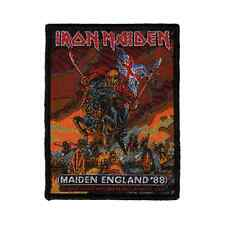 IRON MAIDEN Patch MAIDEN ENGLAND '88 Aufnäher ♫ Heavy Metal ♫