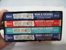 MURDER SHE WROTE BOXED SET 4 PAPERBACK BOOKS JESSICA FLETCHER & BLAIN (AD 30)