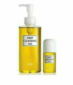 DHC Deep Cleansing Oil Makeup Remover, Face Cleanser 10.1 OZ. & 1 OZ Travel Size