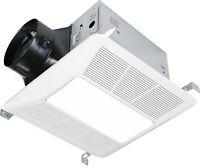KAZE SEP120L2 Quiet Bathroom Ventilation Exhaust Fan LED Light 120-CFM 0.3-Sones