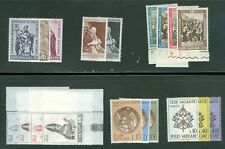 Vatican City 1963 Compete MNH Year Set