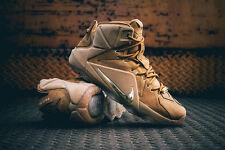 Nike LeBron 12 XII EXT Wheat Size 10. 744287-700. Tan cork what the bhm elite