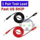 3FT Alligator Probe Test Lead Clip to Banana Plug Probe Cable for Multimeter New
