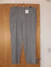 M & S Classic Pantaloni Taglia 12 Lungo Nuovo con Etichetta