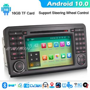 Android 10 GPS Car Stereo GPS Radio Mercedes Benz ML/GL Class W164 X164 CarPlay