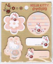 Sanrio Hello Kitty Ladybug New pack Mini Sticky Notes! NIP Dated 2000