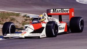 AYRTON SENNA Poster Formula One 1 F1 Racing Poster 24 in by 36 in G