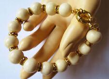 Unbehandelte Echtschmuck-Armbänder aus Metall-Legierung für Damen