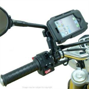 Waterproof Motorcycle Mirror Stem Mount for iPhone 5C